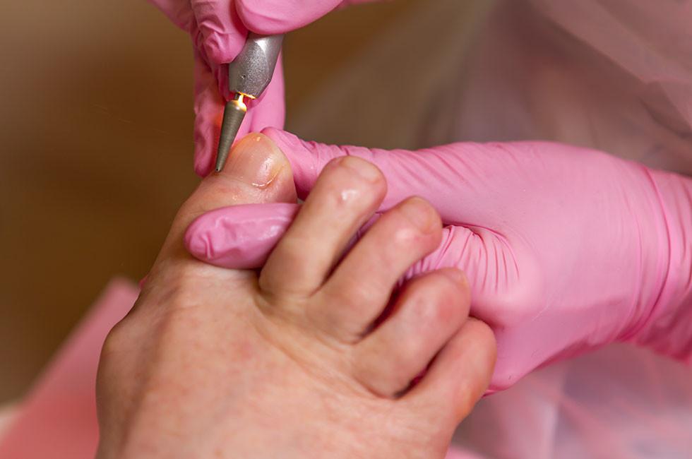 Polijsten van nagels